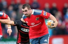 James Cronin included in Munster's Heineken Cup squad