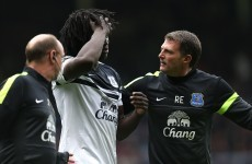 KO'ed Romelu Lukaku did not know he had scored debut Everton winner