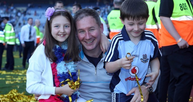 Snapshot: Jim Gavin enjoying his first All-Ireland win as Dublin manager with his kids