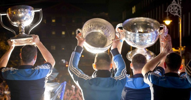 35,000 Dublin fans welcome All-Ireland heroes at homecoming
