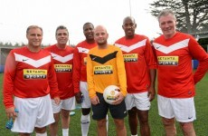 Ever wondered what it's like to be given the runaround by a team of ex-Man United players?
