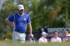 Disaster for McDowell on day one at Bay Hill