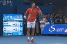 Djokovic loses battle of the sexes tennis clash but there's a 'but'
