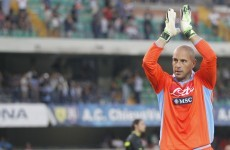 Reina: No reason to think I'll be a Liverpool player again