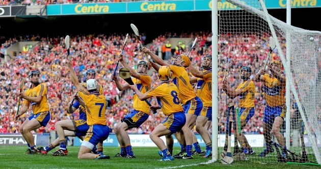 Snapshot: Anthony Nash beats 12 (!) Clare defenders for Cork's opening goal