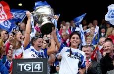 Late penalty sees Cavan Ladies lift intermediate football title