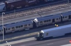 Over 30 injured as two trains collide in Chicago