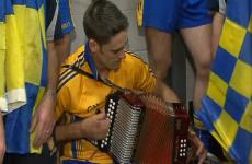 VIDEO: Banner men go accordion mad in Croke Park dressing room