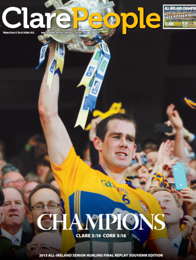 Here's how the Clare People are marking the Banner's All-Ireland victory