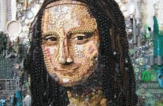 Famous works of art...recreated with buttons