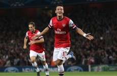 Özil off the mark as Arsenal impress against Napoli