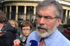 'I've said what I need to say': Gerry Adams on brother's conviction