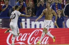 Ronaldo scores at the death to rescue Bale-less Real Madrid