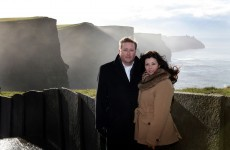 Couple whose baby died at Cliffs of Moher return to pay tribute