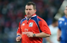 IRB appoints referees for Ireland's November internationals