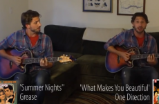One minute mashup of songs that 'ripped off' other songs…