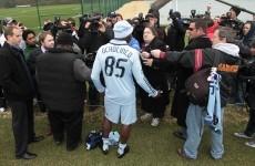 WATCH: NFL star Ochocinco fails to impress in soccer trial