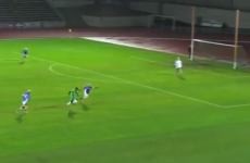 Here's a GIF of a Zebo flick at the world's most northerly GAA game