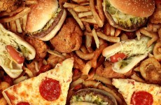 "31 per cent of teens eat ""a lot"" of junk food"