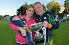 Goalkeeping in Kilmacud Sevens finals and managing in Galway county finals