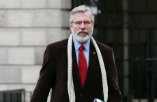 """Adams hits out at """"witch-hunt"""" against him"""