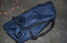 PSNI examining failed mortar attack release photo of 'terrorists' holdall'