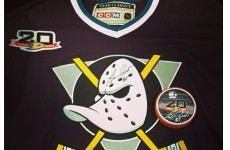 The Anaheim Ducks will wear the 'Mighty Ducks' uniform for its 20th anniversary this weekend