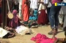 Outrage as death toll from Hindu temple stampede hits 115