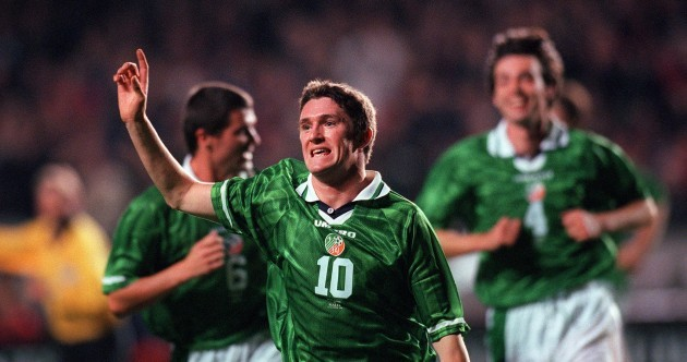 It's 15 years ago today since Robbie Keane scored his first-ever Ireland goal