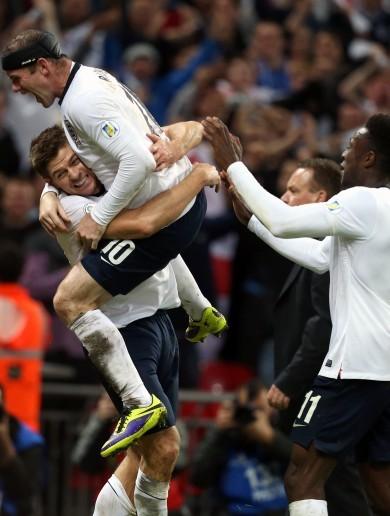 Gerrard wants more as England reach World Cup