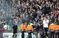 FA to investigate Villa Park flare incident