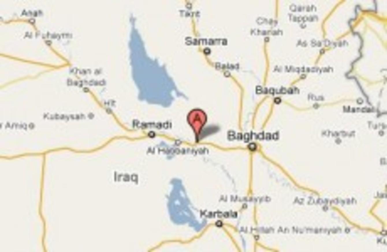 three killed in suicide bomb attack in fallujah iraq today