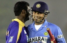 Sachin and Murali do battle for cricket's greatest prize