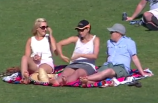 Cricketer's girlfriend caught telling a raunchy story on camera
