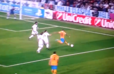 Video: Juventus player kicks ground, claims for penalty