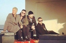 Here are U2 filming their new video in Bray