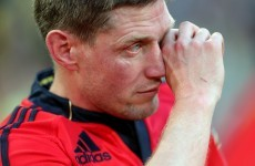 'It was a love affair' - Ronan O'Gara on his time with Munster