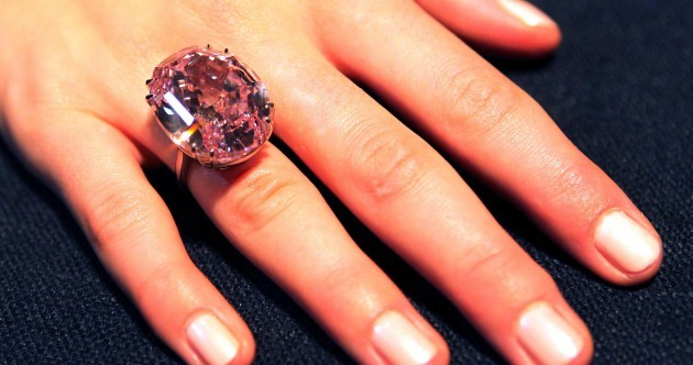 Getting engaged? This pink diamond ring is being auctioned at over €40m