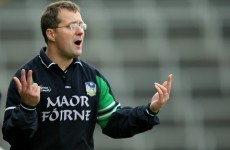 John Brudair set to take Limerick reins as footballers boycott 2014 McGrath Cup