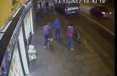 Video shows teens taking a bike in Dublin city centre