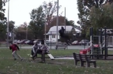This flying Grim Reaper prank is absolutely terrifying