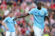 Toure insists he's not deaf as racism row rumbles on