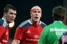 Injury worries for Ireland as O'Connell and Earls miss Munster match
