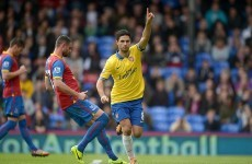 Arteta scores and gets sent off as Arsenal overcome Palace