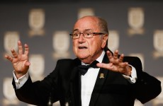 Sepp Blatter wants 'racism' teams kicked out