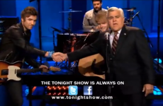WATCH: Kodaline's Jay Leno performance