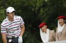 Rory McIlroy bolts out to the lead at HSBC Champions