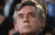 WATCH: Former British PM Gordon Brown forgets that he is still a politician