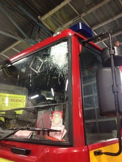 Bricks, bottles and kegs thrown at Dublin Fire Brigade on Halloween night