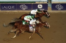 Aidan O'Brien was this close to a historic Breeders' Cup win last night